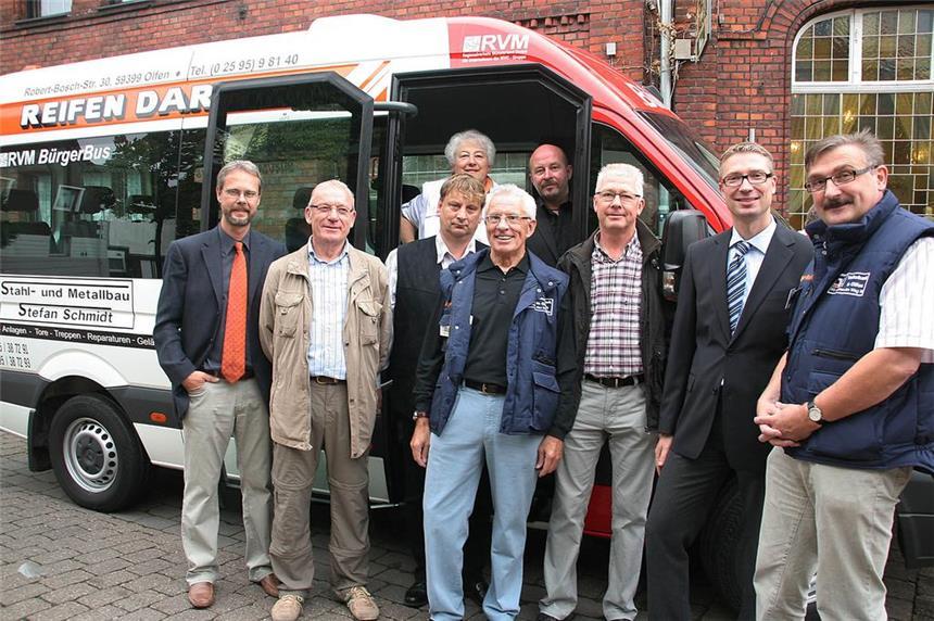 Einweihung des neuen Bürgerbusses (Ruhrnachrichten)