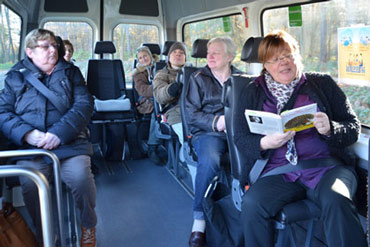 Vorlesen im Bürgerbus